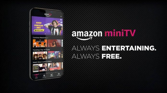 Amazon has launched a new video streaming service, called miniTV.