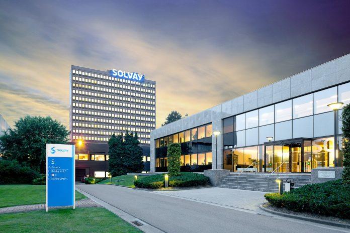 Solvay raises cash flow target as cost cuts bear fruit