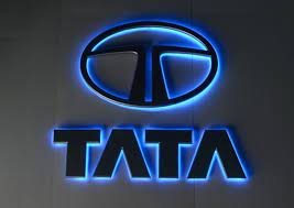 Brand new Tata cars partially submerged in water due to heavy rains.