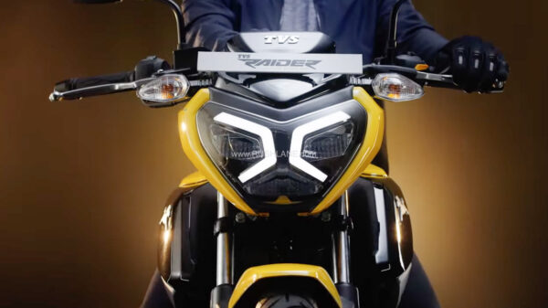 TVS has launched its new TVS Raider 125 bike at an entry price of ₹77,500.